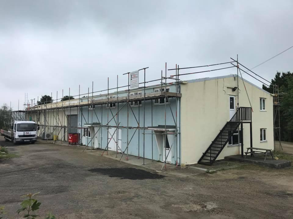 Industrial Scaffolding Cornwall - TLK Scaffolding Services Ltd