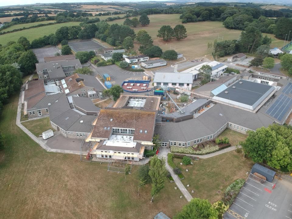 Commercial Scaffolding Cornwall - TLK Scaffolding Services Ltd